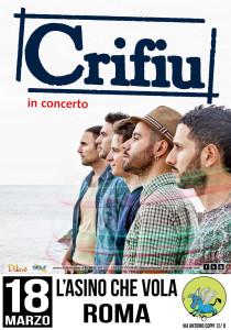 Locandina crifiu roma fb