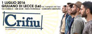 evento fb 1 luglio - Giuliano di Lecce