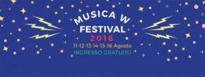 locandina musica W festival